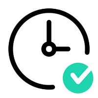 icons8-clock-checked-256